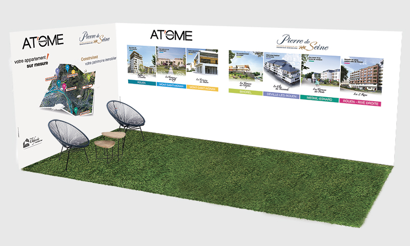 atome stand