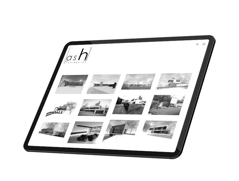 site internet ash architectes tablette